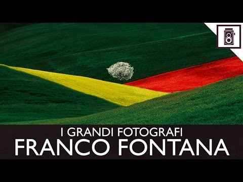 FRANCO FONTANA - I GRANDI FOTOGRAFI