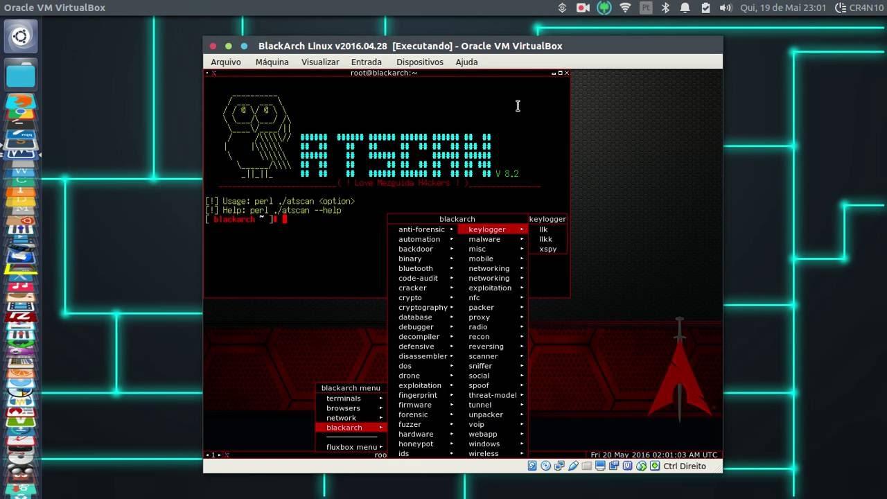BlackArch Linux v2016