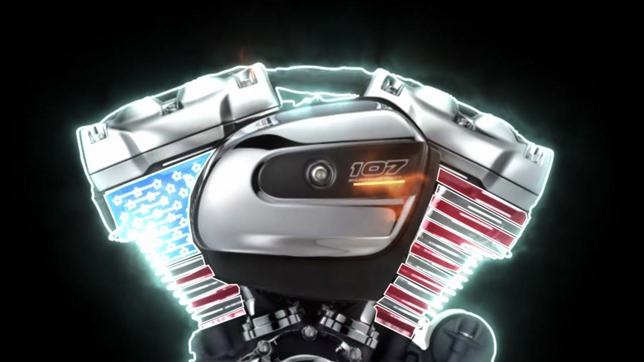 Harley Milwaukee 8 >> 2017 Harley-Davidson Milwaukee-Eight 8-valve Big Twin