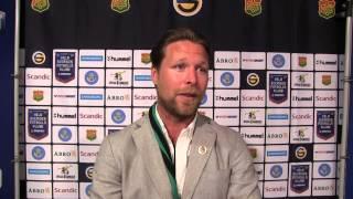 Jonas Lundén efter förlusten mot Östersunds FK