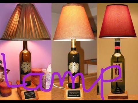 Diy Bottel lamp shade  - Easy channel