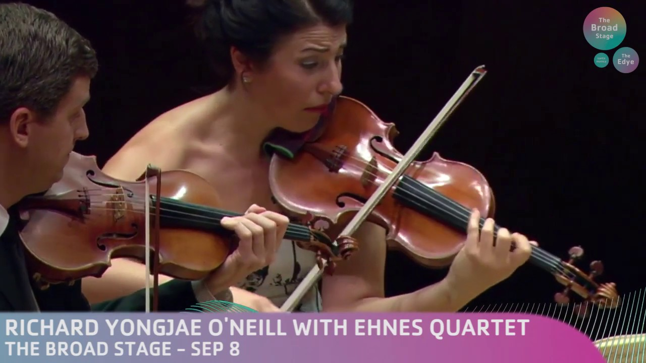 A STRIKING VANCOUVER DEBUT FOR THE EHNES QUARTET — Vancouver