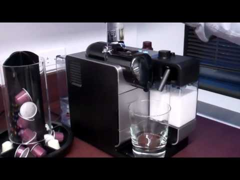 coffee maker with espresso and grinder