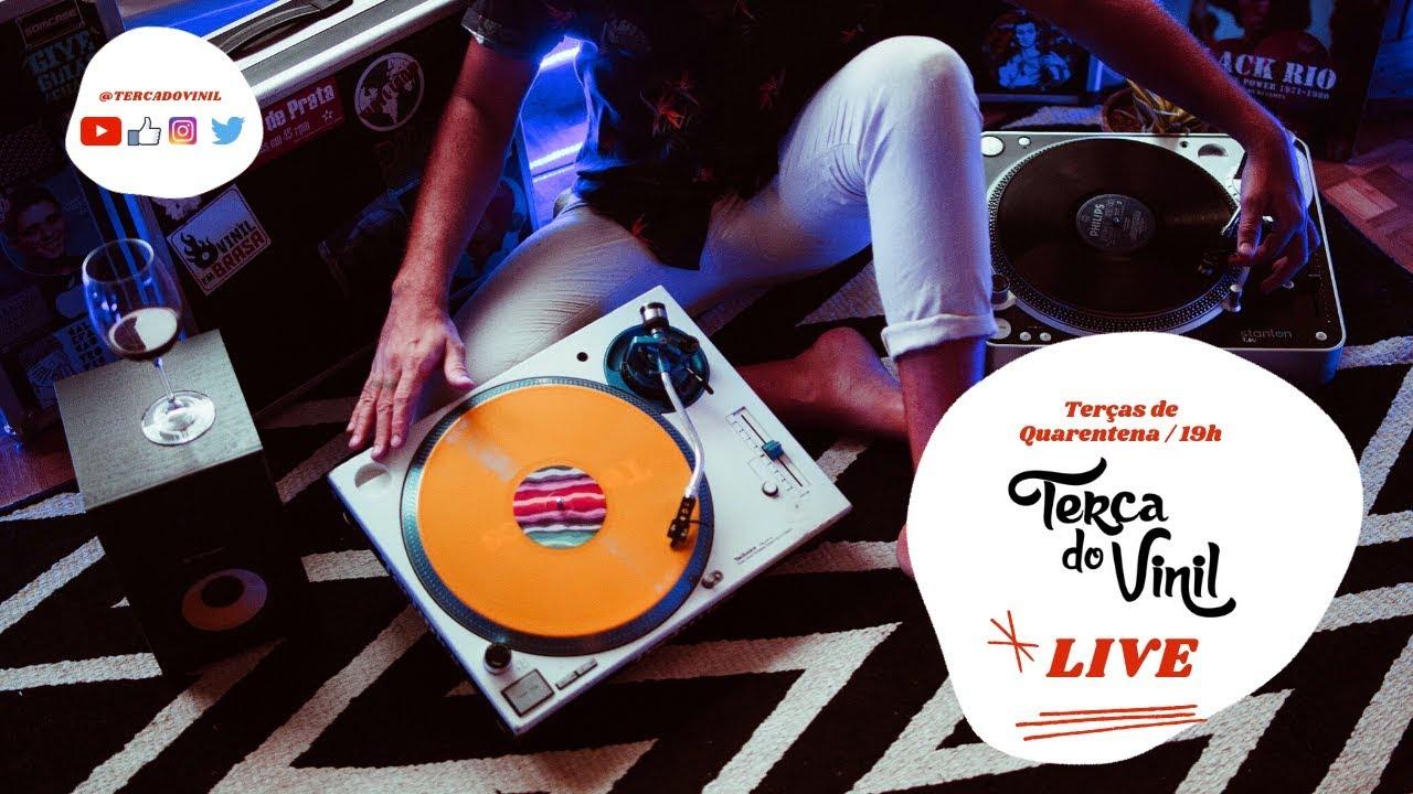 Live da Quarentena #06 /// Terça do Vinil com DJ 440