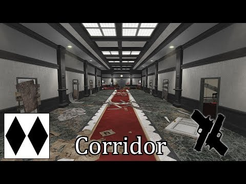 Killing Floor 2: HoE Corridor 5Faked|6P Scale|32mm|Gunslinger w/Patriarch