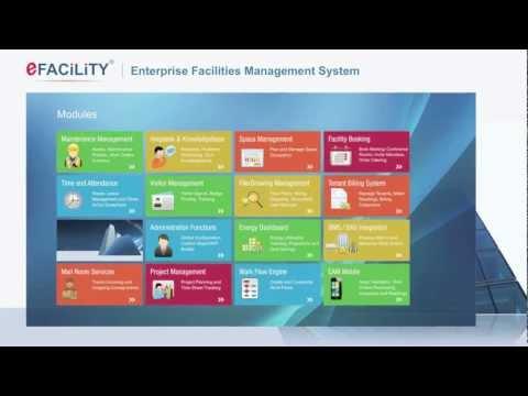 eFACiLiTY® - Enterprise Facilities Management Software