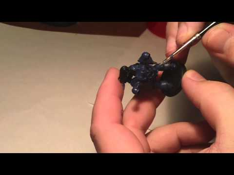 How to paint Night Lords Chaos Space Marines Part 1 (Blues)