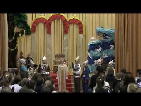 Спектакль по произведениям А. С. Пушкина. Сказка о мёртвой царевне и о семи богатырях.