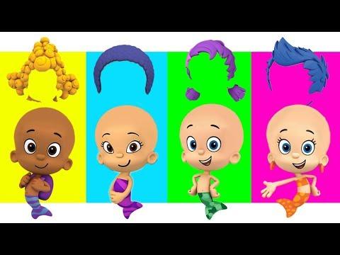 ✅Гуппи и пузырики неправильные волосы пальтовая семейная песня