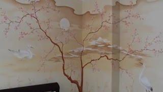 Украшаем интерьер  Художественная роспись стен.