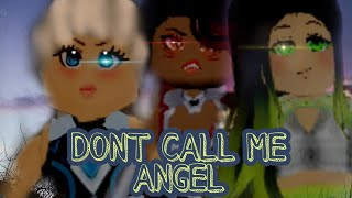 Don't call me Angel (Roblox music video)