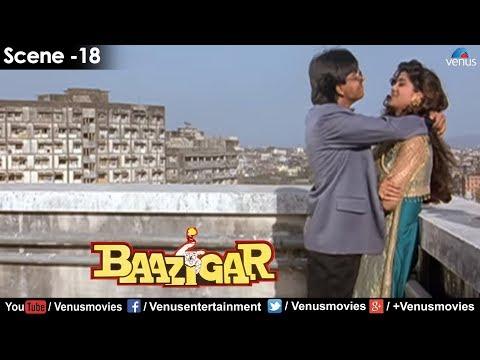 Shahrukh Khan Throws Shilpa Shetty to her Death (Baazigar)