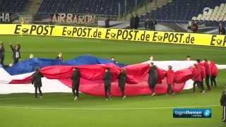 Tagesthemen zum abgesagten Fußball-Länderspiel Deutschland-Niederlande in Hannover - ARD HD