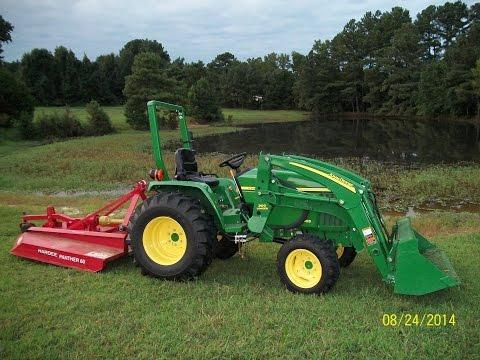 John Deere 4720 Compact Tractor Bush Hog Doovi