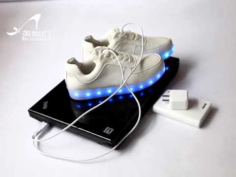 How To Charge This Led Shoes Pls Check The Video Youtube