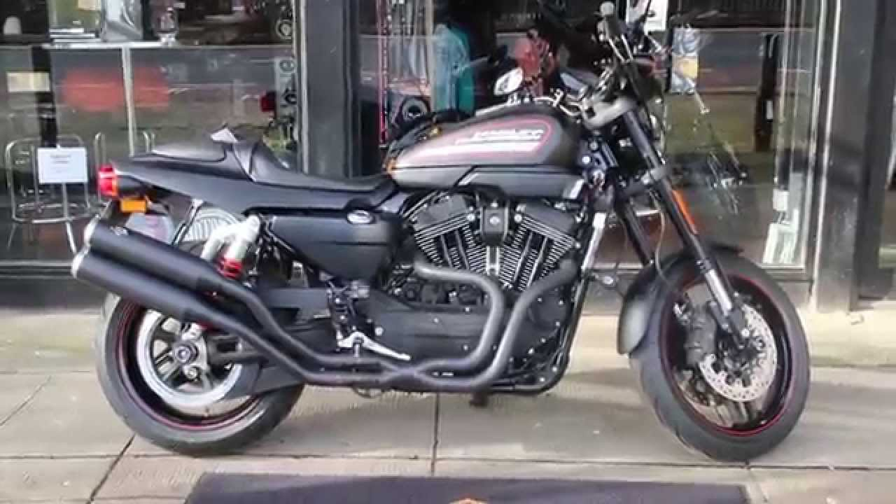 2011 HARLEY-DAVIDSON XR1200X VANCE & HINES PIPES @ West Coast  Harley-Davidson, Glasgow, Scotland