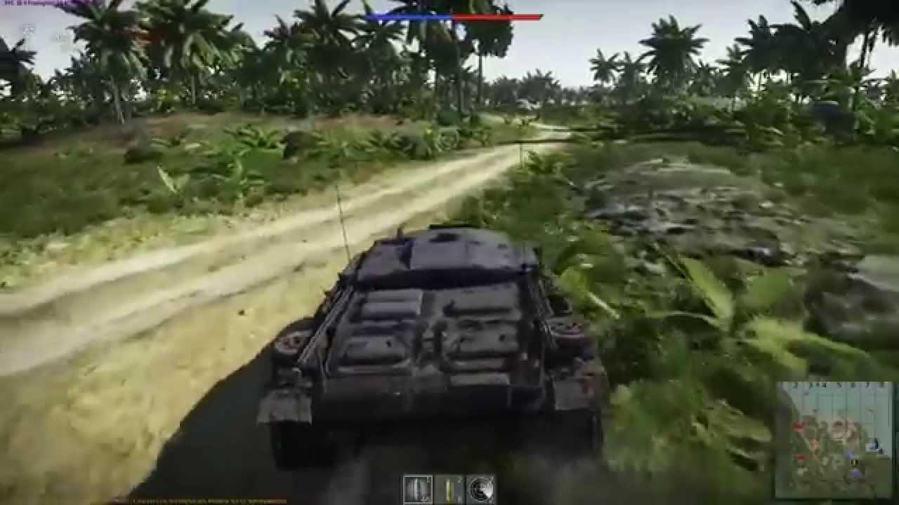 обзор новой карты джунгли танки War Thunder Youtube