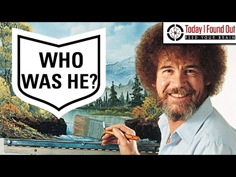 The Surprisingly Mysterious Life of Famed Artist Bob Ross