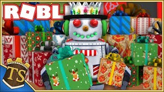 PACKS CHRISTMAS PRESENTS IN RECORD TIME! -Present Wrapping Simulator-Ep 1 | Danish Roblox