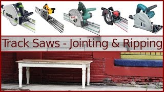 Jointing & Ripping Lumber with a Track Saw