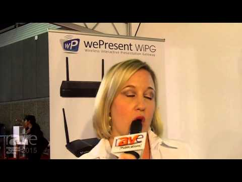 ISE 2015: wePresent Talks About the WiPG 1500