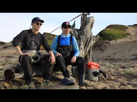 Lost Coast Outfitters Presents Fly Fishing For Surf Perch, California