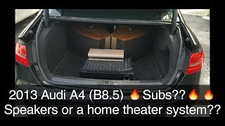 1st EVER how to install: AUDI owner installs Bose 901 SPEAKERS system on A4 B8.5