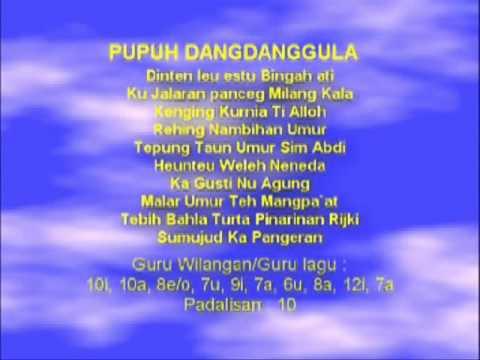 Lagu Sunda dengan Lirik | PUPUH DANGDANGGULA