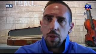 Ribéry revient sur le match France - Islande