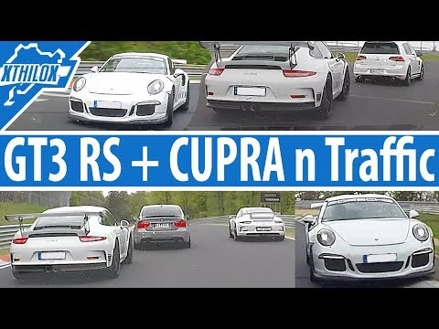 2nd last Lap - GT3 RS - Leon Cupra - GT4 and BMW Barrier - Nürburgring Nordschleife BTG
