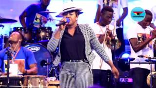 Watch Joyce Blessing's energetic performance at SP Kofi Sarpong Live In Concert