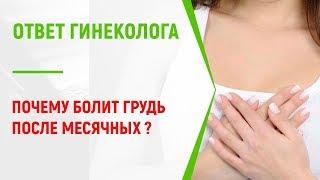 Месячные прошли, а грудь болит: что делать?