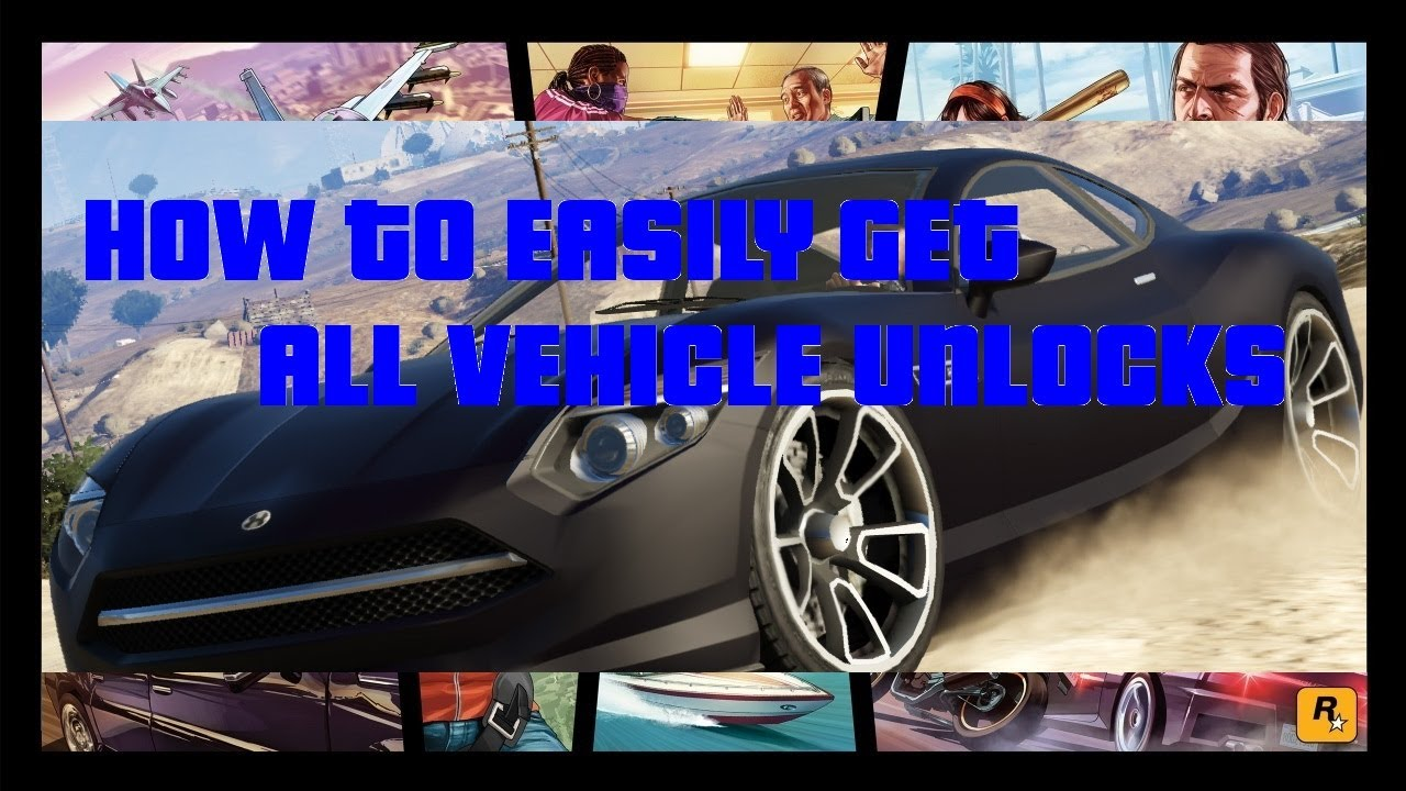 GTA V Online Unlock all Vehicle Upgrades Easy!
