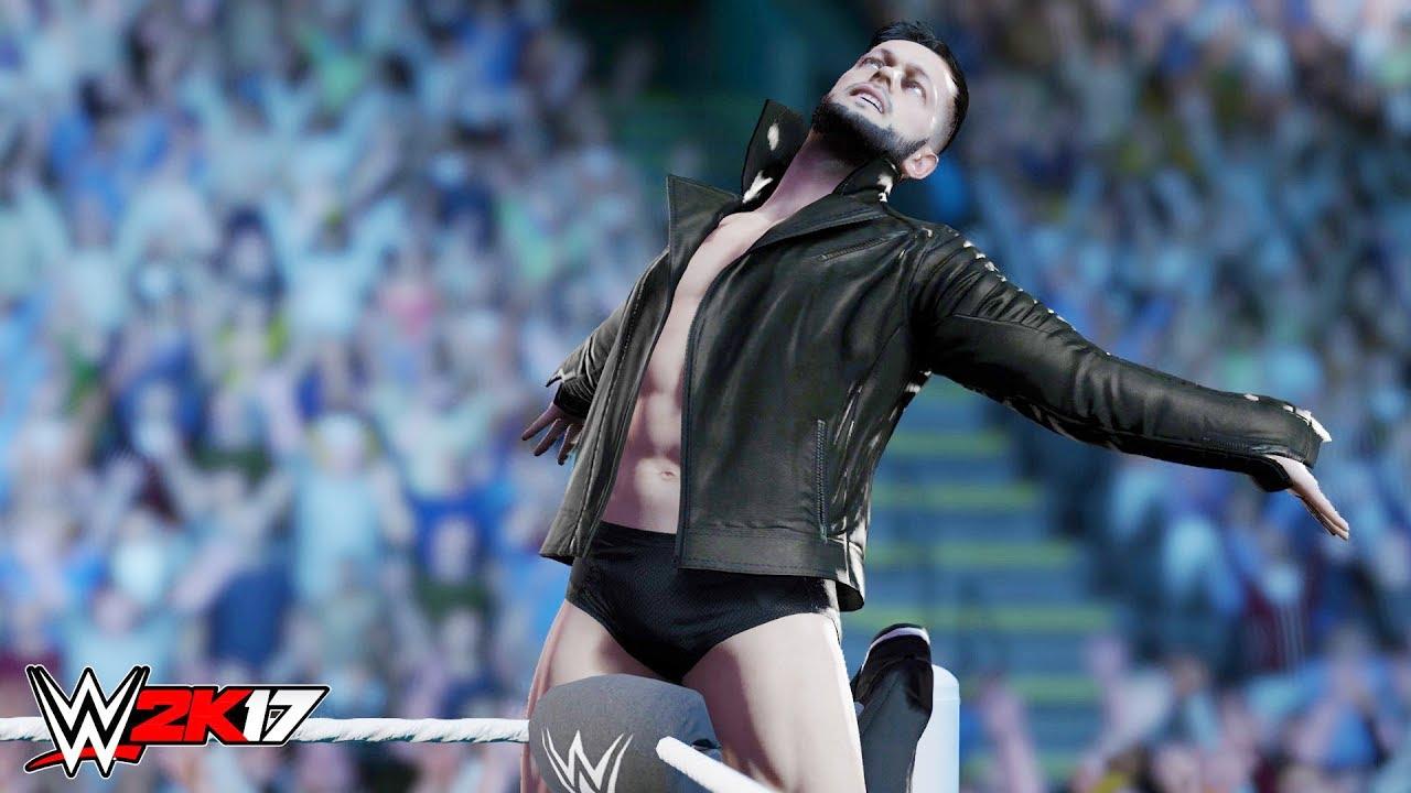 WWE 2K17 - FINN BALOR COUP DE GRACE COMPILATION!!