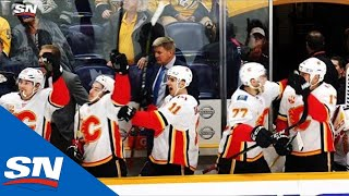 Flames Score Four Third Period Goals Against Predators To Force Overtime