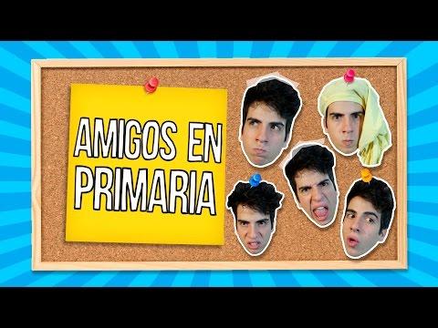 TIPOS DE AMIGOS EN LA PRIMARIA | Gonzok