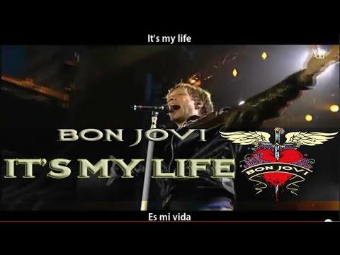 bon jovi it 39 s my life lyrics sub espa ol hd youtube. Black Bedroom Furniture Sets. Home Design Ideas
