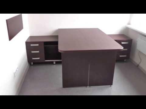 Офисные столы. Компьютерные столы для руководителей. Стол для директора Киев. Столы для персонала.