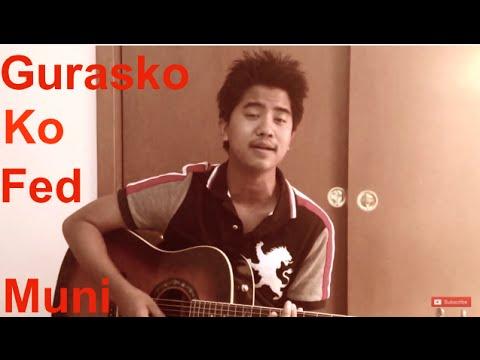 Sabin Rai - Guras Ko Fed Muni Cover | Guitar Chords | Lyrics