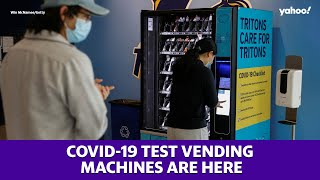 COVID-19 test vending machines are here