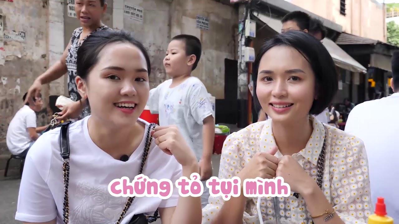 Quỳnh Anh - Huyền Mi ăn sập Sài Gòn trong 24h