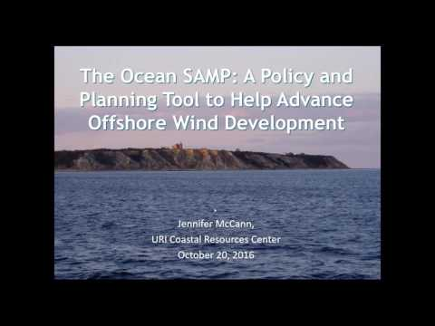 Webinar: Northeast Ocean Planning and Offshore Wind (10.20.2016)