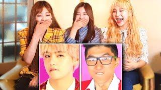 K-POP IDOLS REACT TO LANKYBOX - BTS IDOL WITH ZERO BUDGET!