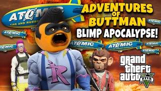 Adventures of Buttman #11: BLIMP APOCALYPSE! ...