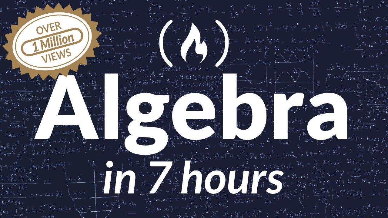 College Algebra - Full Course