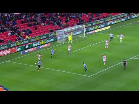 Stoke City v Sheffield Wednesday highlights