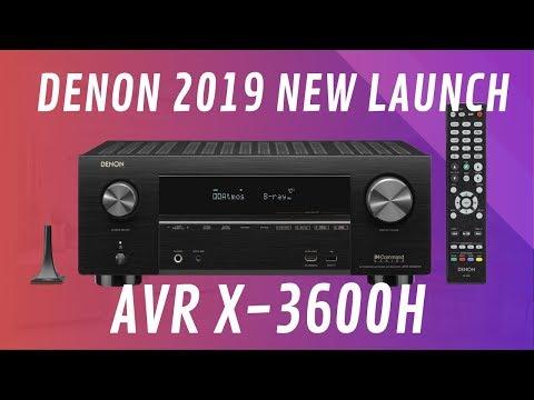 Denon X3600H 4K Ultra HD AV Receiver  - Quick Look India