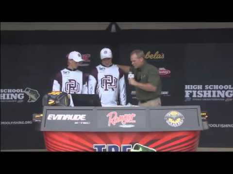 High School Fishing World Finals Lake Dardanelle 2014 Day 2