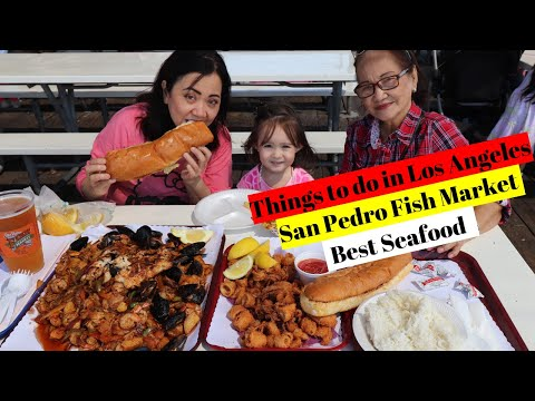 Things To Do In Los Angeles (San Pedro Fish Market)