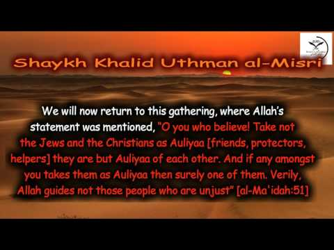 Sublime Benefits From A Voyage To The Land of Saudi Arabia Shaykh Khalid Uthman Part 2